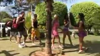 Gorąca brazylijska orgia w grupie przyjaciół