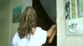 Erotyczny masaż zakończony pieprzeniem