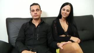 Para małżonków występuje w porno castingu