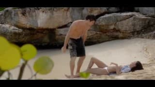 Nastoletnie igraszki na plaży