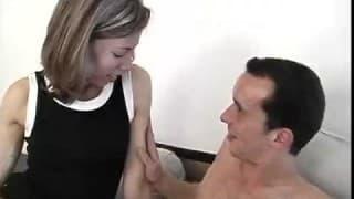 Pakując chuja w jej wąską dupę
