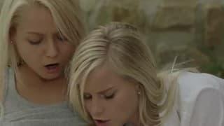 gorące lesby blondynki - seksi piknik