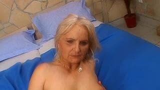 stara kobieta wielki kutas
