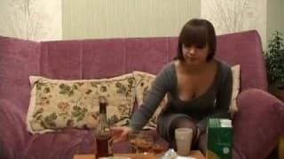 Pijana małolatka zerżnięta w dupkę