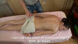 Nastolatka wyjebana przez masażystę