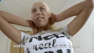 18letnia blondyna dobrą kandydatką na kurwę