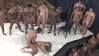 Gang bang po brazylijsku