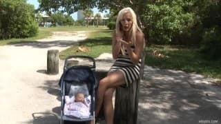 Eden Adams dała dupy i zaszła w ciążę