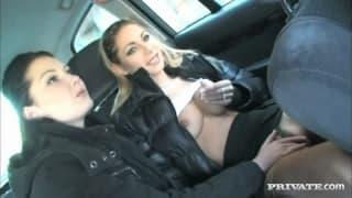 Belicia i Rachel seks w publicznym miejscu