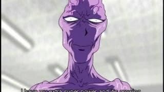 Rudzielec w hentai wyjebana przez obcego