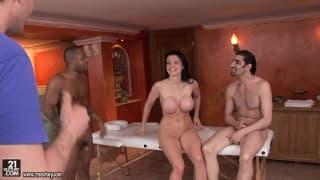 Kręcenie porno z Aletta Ocean od kuchni