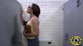 Roxanne Rae-obciąganie czarnego chuja