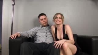 Lya Pink-ona się jebie a mąż patrzy!