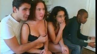 Seks międzyrasowy na styl francuski