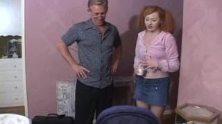Niania wróciła do domu i przeleciał ją dziadek