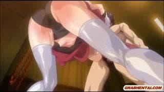 Suka hentai ma już czerwoną cipę od jebania