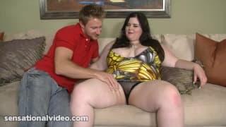 Holly Jayde - gruba dziwka kocha seks