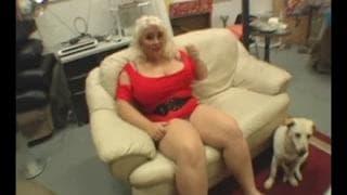 Scarlett Rouge - BBW cała w spermie!