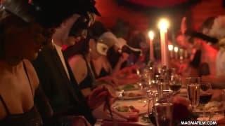 Tajemnicze seks party grupy swingersów