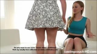 Riley i Maryann - gorący porno casting