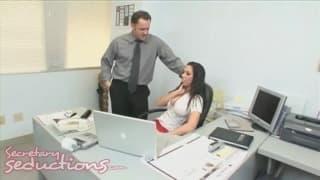 Rachel Starr super seksowna sekretarka