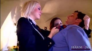 Henessy i Mandy Dee - seks w trójkącie