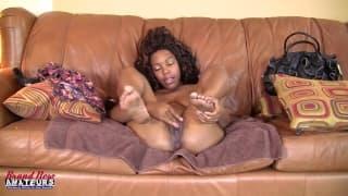 Vanessa - czarna dziwka na castingu