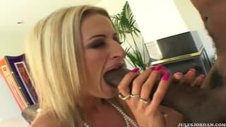 Lauren Kain chce tego czarnego chuja!