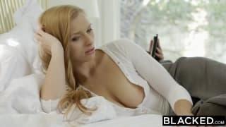 Layna Landry marzy o seksie z murzynem