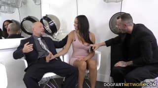 Bethany Benz ruchana w podwójnej penetracji