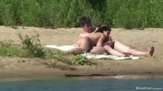 Podglądanie seksu parki na dworze!
