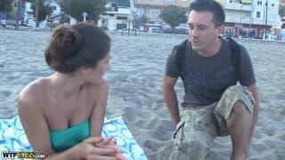 Agnessa planowała dzień spędzić na plaży