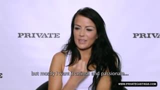 Samantha Joons zalicza pp podczas castingu