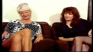 Starsze lesby w węgierskim pornosie