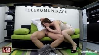 Julia znowu wezwana do szefa na dywanik