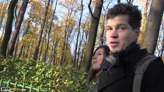 Anya i Kirill to zakochana para