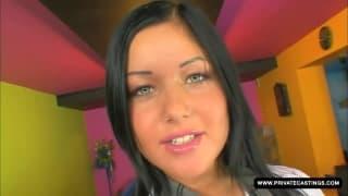 Angelica Heart i jej pierwszy Kasting do porno