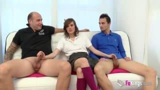 Hiszpanka Ainara Reina w trójkącie!