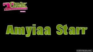 Amyiaa Starr - duże cyce i twardy chuj