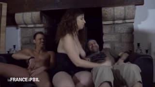 Adriana od razu trafiła do seks trójkąta