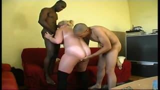 Patrice i Charlotte w seksownym trio
