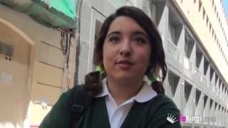 Hiszpańska studentka chce dobrego seksu