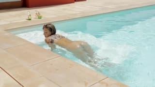Śliczna Maria Rya wypieści gorące ciało!