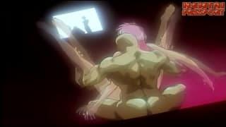Wyjebana i zdominowana - hentai i facet