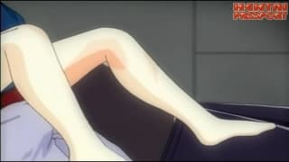 Dziewczyna hentai straci dziewictwo!