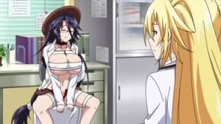 Przyjaciele hentai będą się razem rżnąć