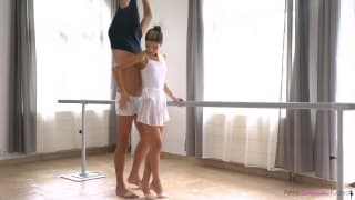 Baletnica Gina Gerson chce się rżnąć!