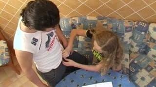 Olia - młoda Rosjanka będzie zerżnięta