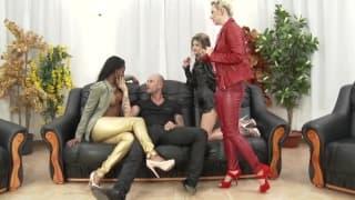 Jessie Volt, Gina Gerson i duży kutas