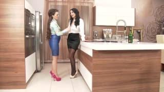 Anissa i Tiffany - dojrzałe lesbijki